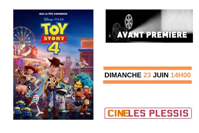 AVANT-PREMIERE TOY STORY 4