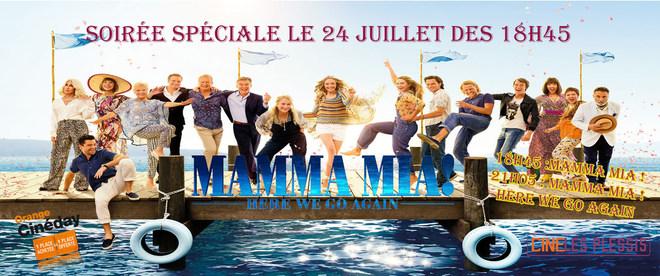 Soirée Mamma Mia 1 & 2
