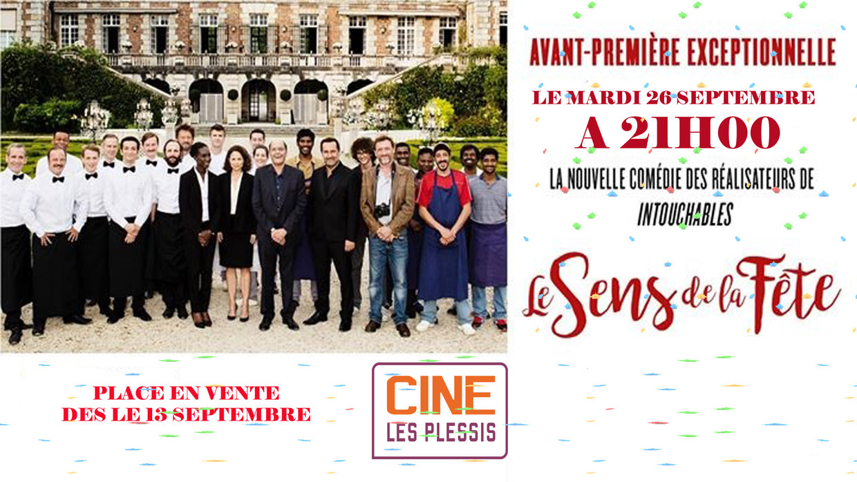 Photo du film Le Sens de la fête